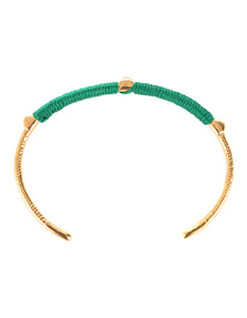 Marte Frisnes Dido Bangle Green