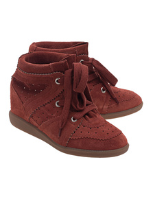 Isabel Marant Étoile Bobby Faded Red