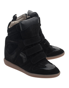 Isabel Marant Étoile Over Basket Bekett Black
