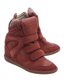 Isabel Marant Étoile Over Basket Bekett Faded Red