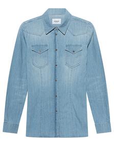 Dondup Western Chest Pocket Denim Blue