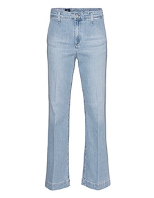 AG Jeans The Layla Flare Crop Light Blue
