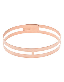 Priyanka Choke Slim Rose Gold