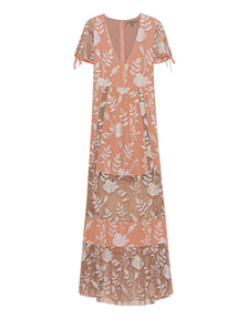 FOR LOVE AND LEMONS Mia Maxidress Rose