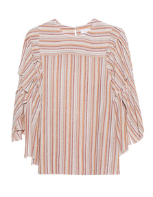 SEE BY CHLOÉ Cut Out Sleeves Multicolor