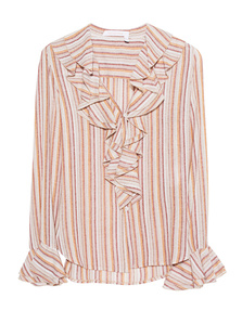 SEE BY CHLOÉ Volant Stripes Multicolor