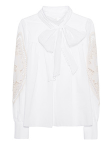 SEE BY CHLOÉ Sleeve Lace White