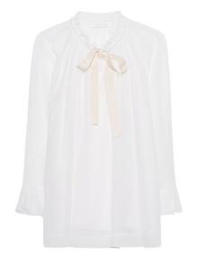 SEE BY CHLOÉ Snow Bow White