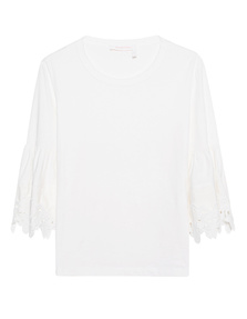 SEE BY CHLOÉ Lace Details White