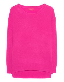JADICTED Crew Neck Cashmere Neon Pink