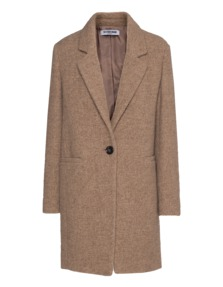 THE OTHER BRAND Blend Wool Clean Fluffy Beige