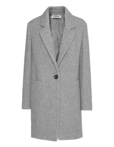 THE OTHER BRAND Blend Wool Clean Fluffy Grey