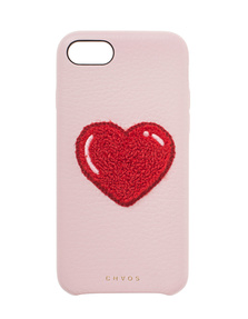CHAOS iPhone 7/8 Heart Chenille Pink