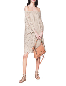 JADICTED Lace Cotton Sand
