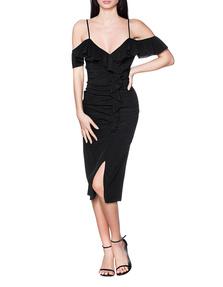 JADICTED Silk Volant Black