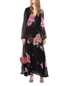 JADICTED Blacklilly Long Dress Black