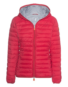 SAVE THE DUCK Giga Hood Red