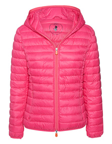 SAVE THE DUCK Light Quilted Hood Coral