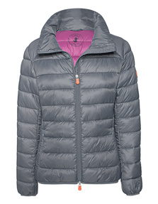SAVE THE DUCK Giga Quilted Grey
