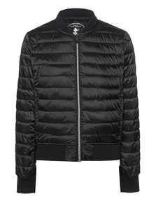SAVE THE DUCK Basic Quilted Black