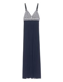 DVF Diane von Furstenberg Knit Jade Blue