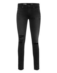 AG Jeans The Legging Ankle Super Skinny 4 Years Black