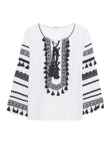 DODO BAR OR Shirt Malka White