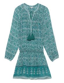 TALITHA Indra Dress Ottoman Green