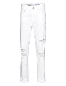 AG Jeans The Ex Boyfriend Slim White