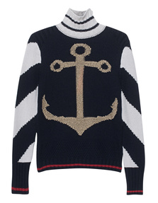 HILFIGER COLLECTION Anchor Tattoo Navy
