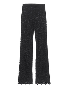 ELLA MOSS Lace Pants Black