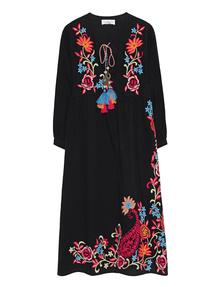 VELVET BY GRAHAM & SPENCER Embroidery Tassel Black