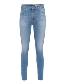 AG Jeans The Farrah Skinny Ankle Light Blue