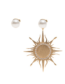 Priyanka Large Sun White Pearls
