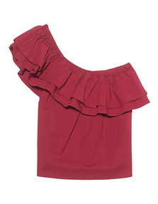 SINCERELY JULES Everly Top Red