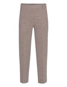 HELMUT LANG Wool Crop Knit Bisque