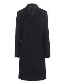 HELMUT LANG Bonded Wool Twill Black