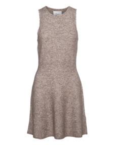 3.1 PHILLIP LIM Heathered Knit Dress Oat Meal Beige