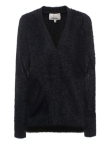 3.1 PHILLIP LIM Cozy Loose Charcoal Anthracite
