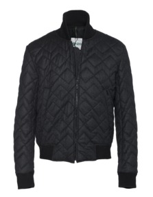 KENZO Quilted Poplin Anthracite