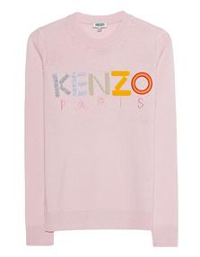 KENZO Logo Faded Pink