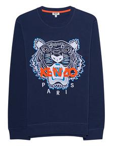 KENZO Sweater Tiger Navy