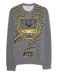 KENZO Tiger Mottled Grey