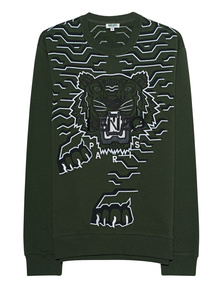 KENZO Tiger Dark Khaki