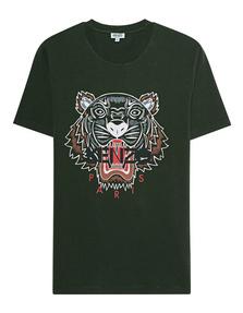 KENZO Tiger Oliv