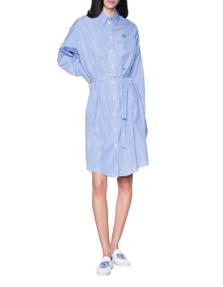 KENZO Cotton Stripe Blue White