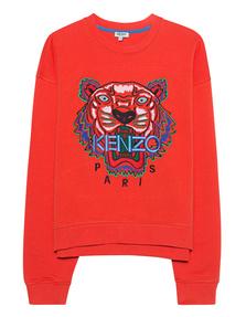 KENZO Tiger Embroidery Orange