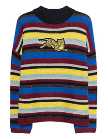 KENZO Striped Tiger Multicolor