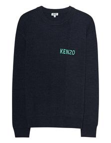 KENZO Knit Logo Anthracite