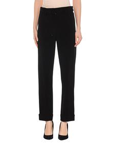 KENZO Tailored Pants Satin Side Black